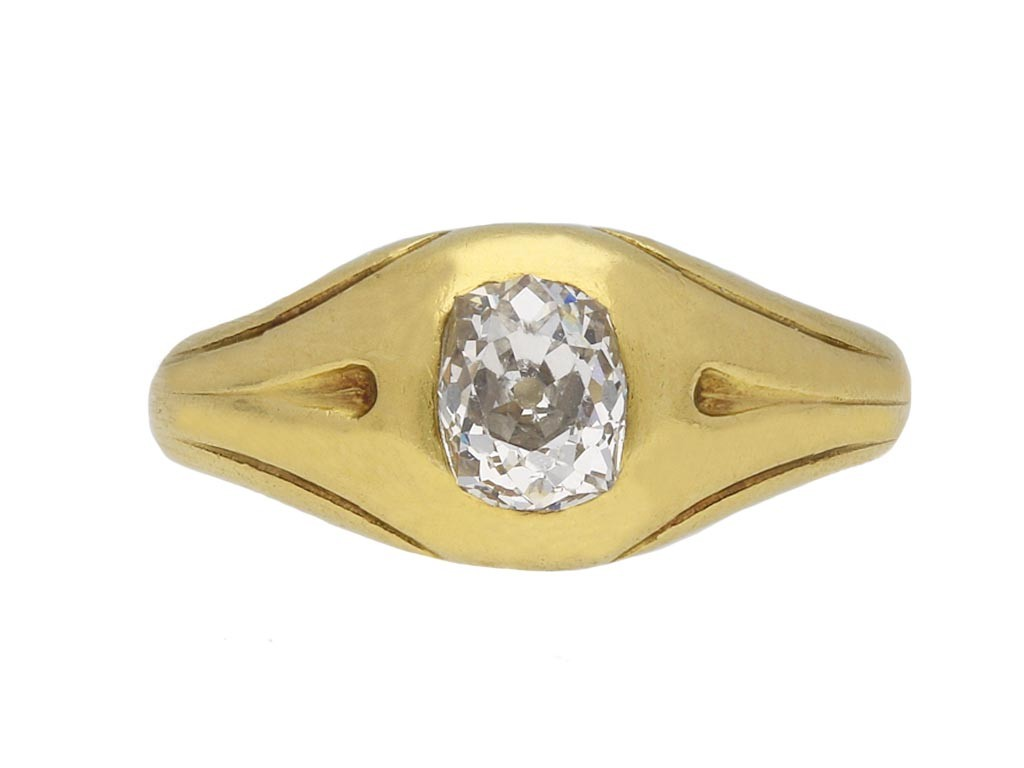 Victorian diamond gypsy ring berganza hatton garden