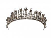 Antique diamond necklace/tiara berganza hatton garden