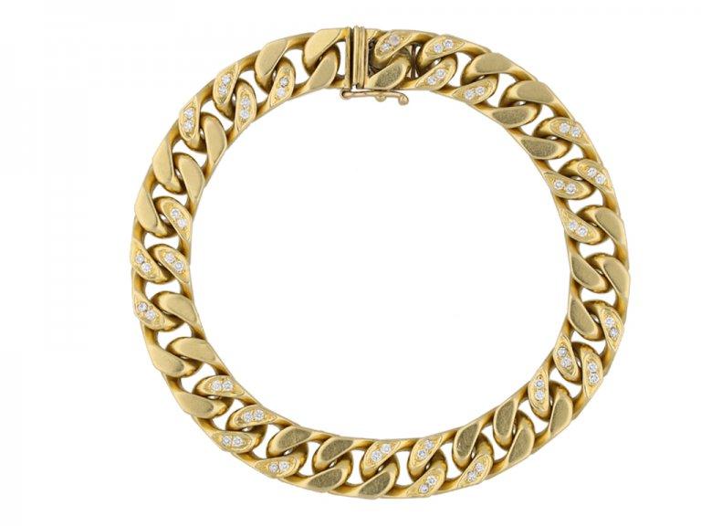 Kutchinsky diamond set bracelet berganza hatton garden