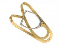 Hermes yellow gold stirrup money clip berganza hatton garden