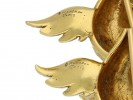 Pair of Boucheron gold duckling brooches berganza hatton garden