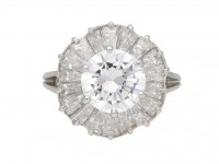 Mauboussin ballerina diamond ring, French berganza hatton garden