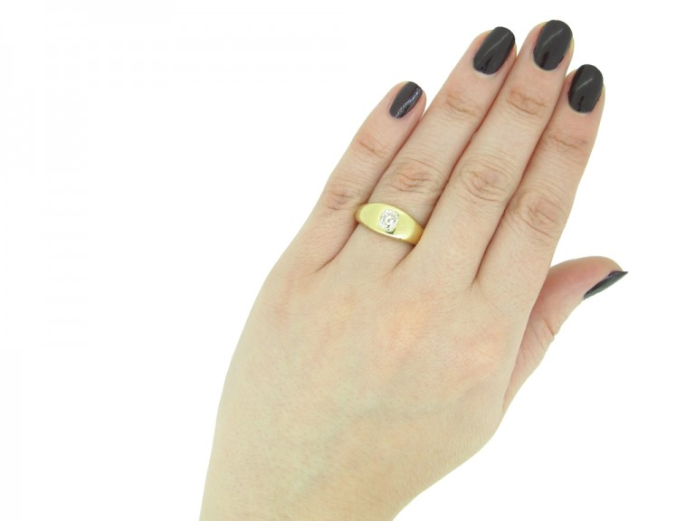 Victorian diamond gypsy ring berganza hatton garden