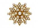 Victorian Natural Pearl Brooch//Pendant berganza hatton garden