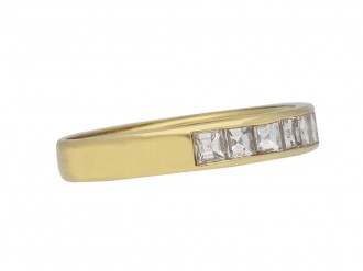 Vintage diamond half eternity band hatton garden berganza