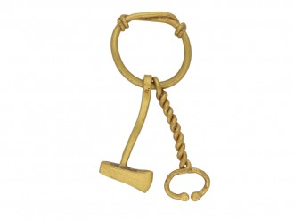 Ancient Roman gold amulet pendant berganza hatton garden