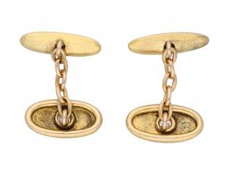 Victorian diamond cufflinks berganza hatton garden