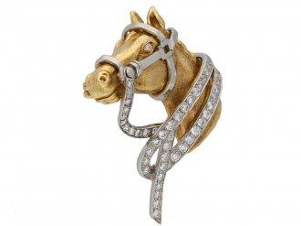 Oscar Heyman Brothers horse brooch berganza hatton garden