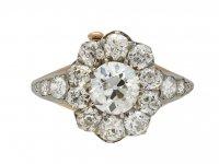 Edwardian convertible diamond ring/bangle berganza hatton garden