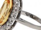 Garrard vintage topaz diamond ring berganza hatton garden