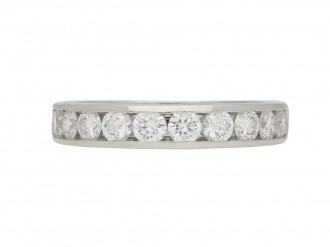 Tiffany & Co. diamond eternity band berganza hatton garden