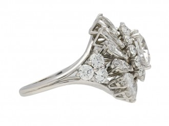 diamond cluster ring berganza hatton garden