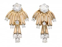 Diamond earrings berganza hatton garden