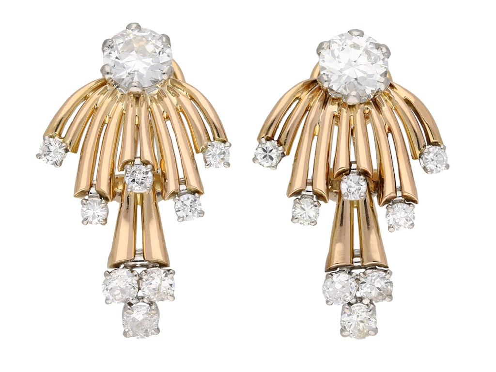 Diamond earrings berganza hatton garden