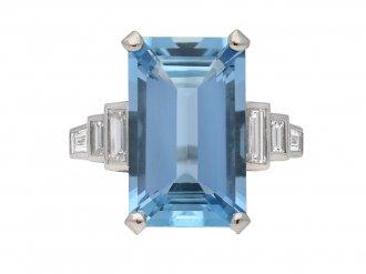 Aquamarine Rings | Antique & Vintage