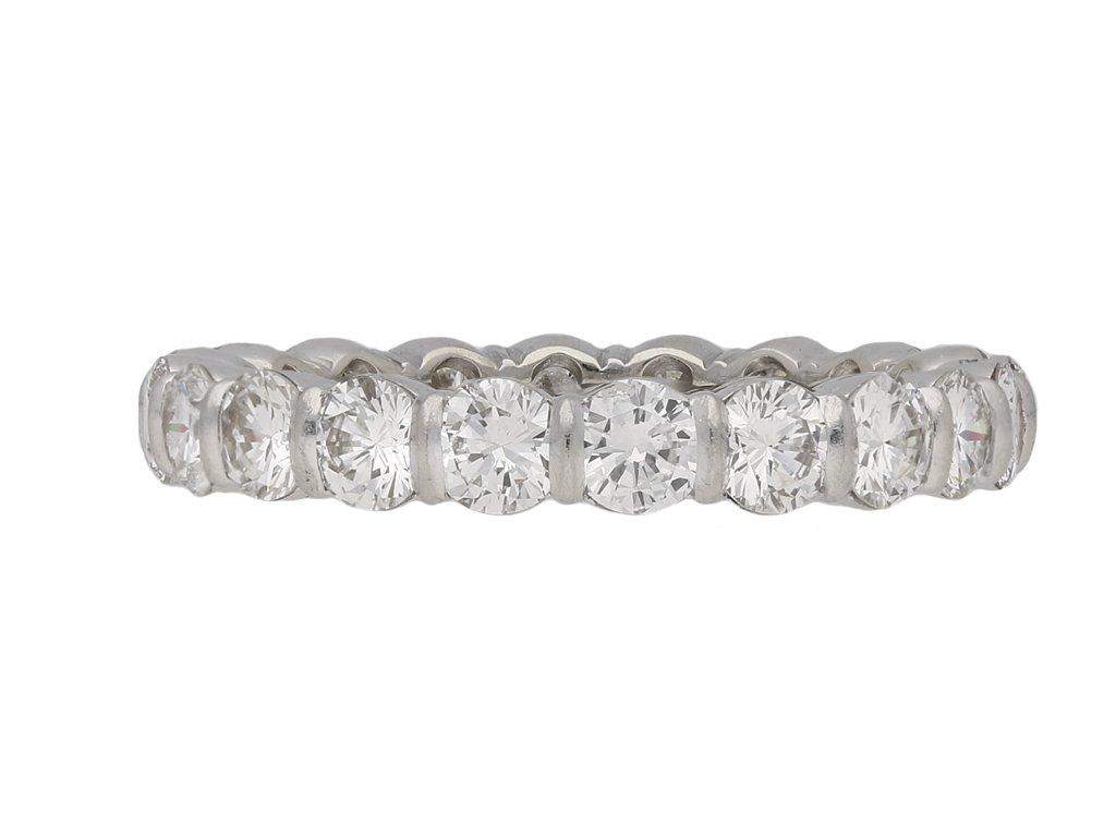 Mauboussin diamond eternity ring berganza hatton garden