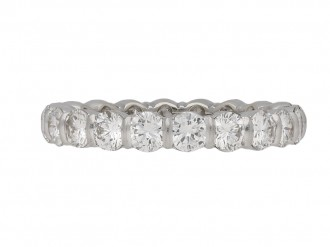 Mauboussin diamond eternity ring berganza hatton garden