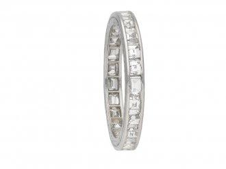 Boucheron vintage diamond eternity band berganza hatton garden