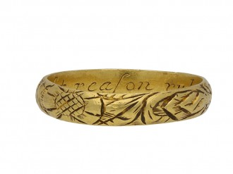 Antique & Vintage Posy Rings | Gold | 15th 18th Century