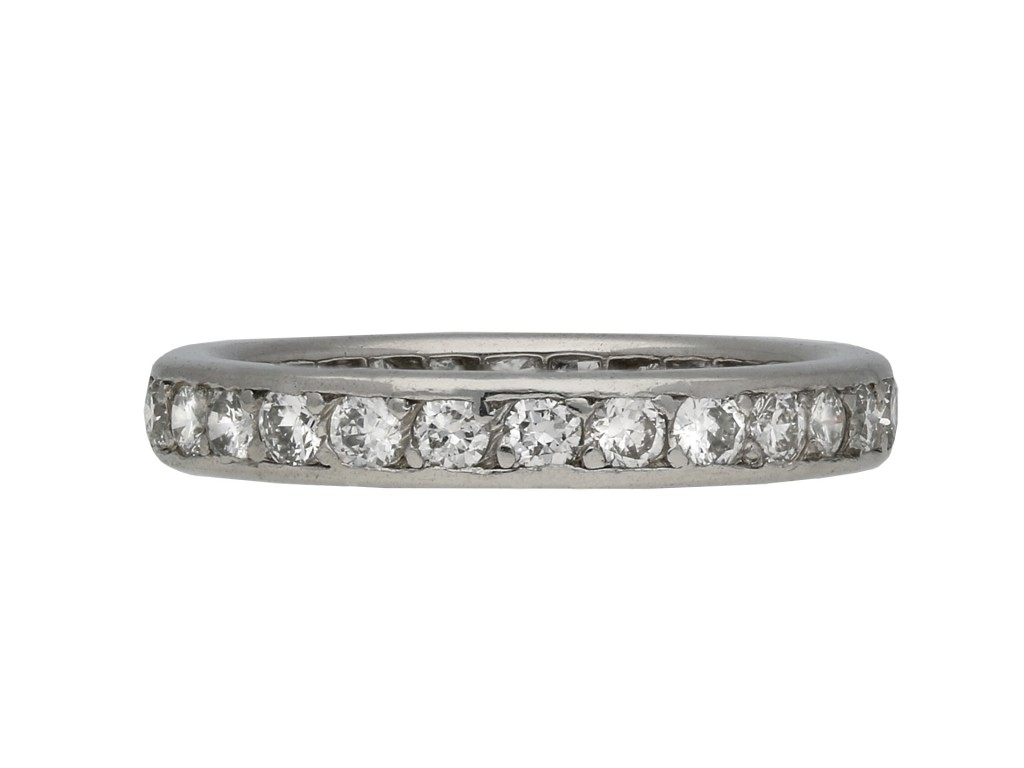 Cartier diamond full eternity band berganza hatton garden
