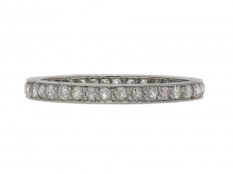 Diamond full eternity ring 1920 Berganza Hatton Garden