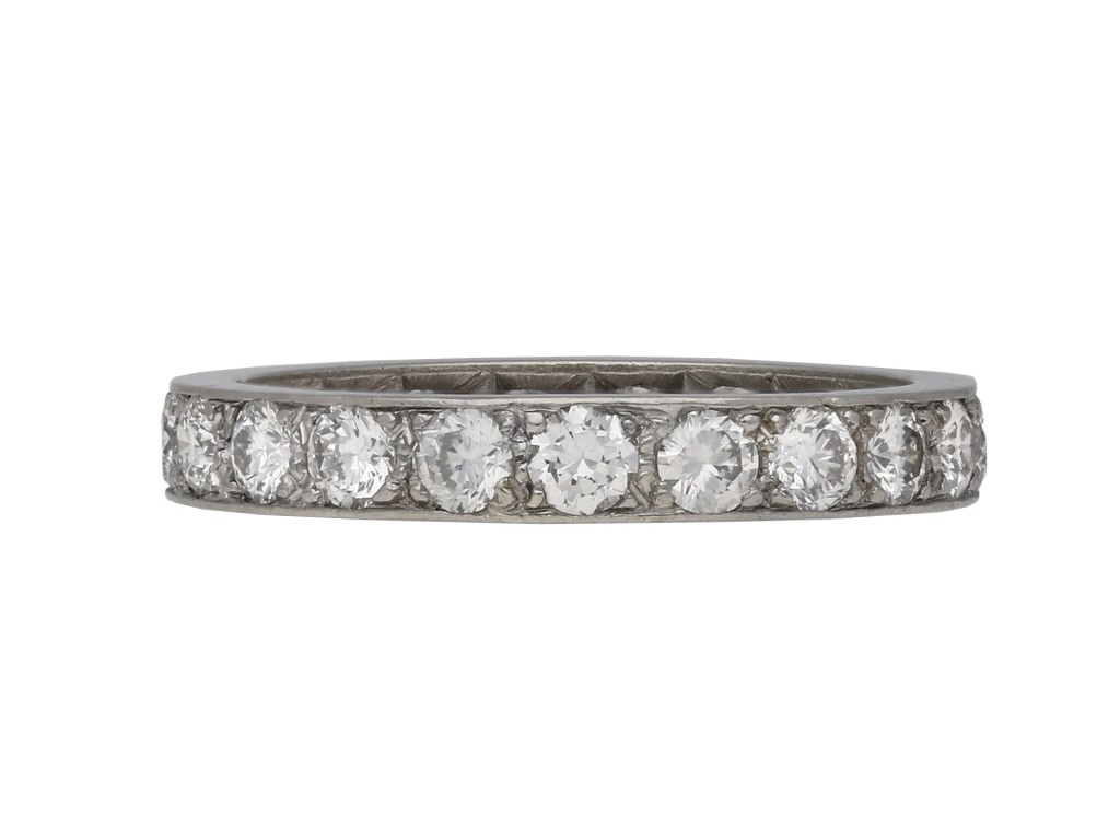 Diamond full eternity band berganza hatton garden