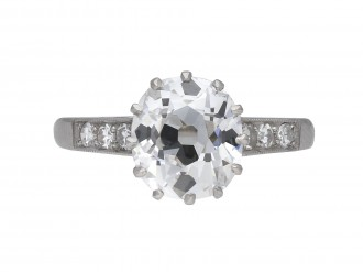 Golconda Type IIa diamond ring berganza hatton garden