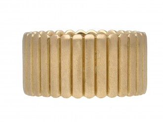 Cartier yellow gold band berganza hatton garden