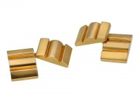 Mauboussin gold cufflinks berganza hatton garden