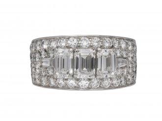 Bulgari diamond cluster ring, berganza hatton garden