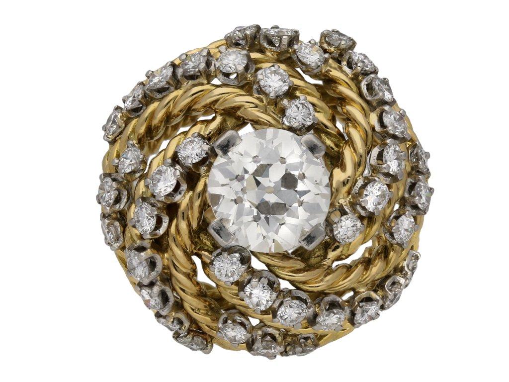 Boucheron diamond cocktail ring berganza hatton garden
