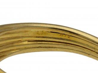 Cartier carved sapphire solitaire ring berganza hatton garden