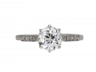 Golconda Type IIa diamond solitaire ring berganza hatton garden