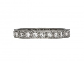Garrard & Co. diamond eternity band berganza hatton garden