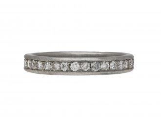 Vintage diamond full eternity band berganza hatton garden