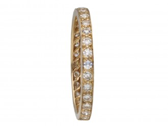 Vintage diamond full eternity band berganza hatton garden