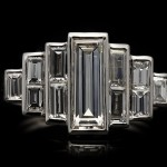 Art Deco diamond ring, circa 1925.