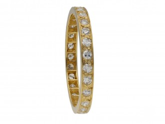 Vintage diamond set eternity ring berganza hatton garden