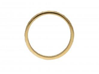 Vintage diamond set eternity ring berganza hatton garden
