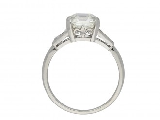 Art Deco diamond solitaire ring hatton garden