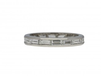 Oscar Heyman Brother diamond eternity ring berganza hatton garden