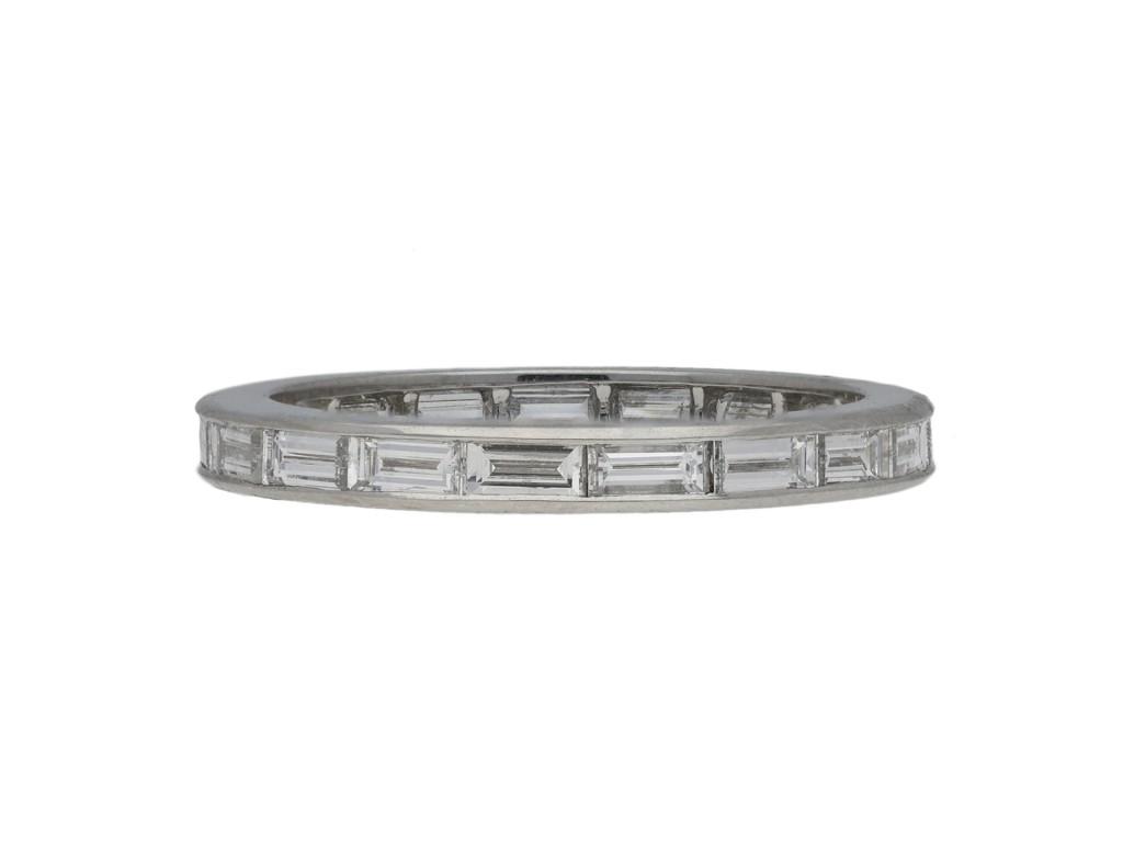 Oscar Heyman Brothers diamond eternity ring berganza hatton garden