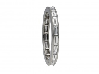 Oscar Heyman Brothers diamond eternity ring berganza hatton garden