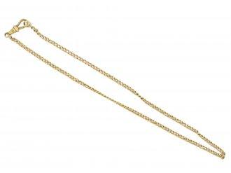 Antique 18 carat yellow gold chain berganza hatton garden