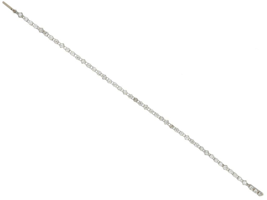 Art Deco diamond bracelet hatton garden