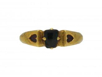 Medieval sapphire love ring berganza hatton garden