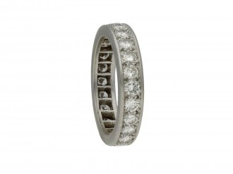 Diamond full eternity ring berganza hatton garden