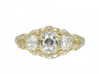 Victorian three stone diamond ring hatton garden