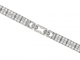 Art Deco diamond bracelet hatton garden