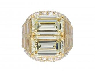 Bulgari diamond 'Trombino' ring hatton garden